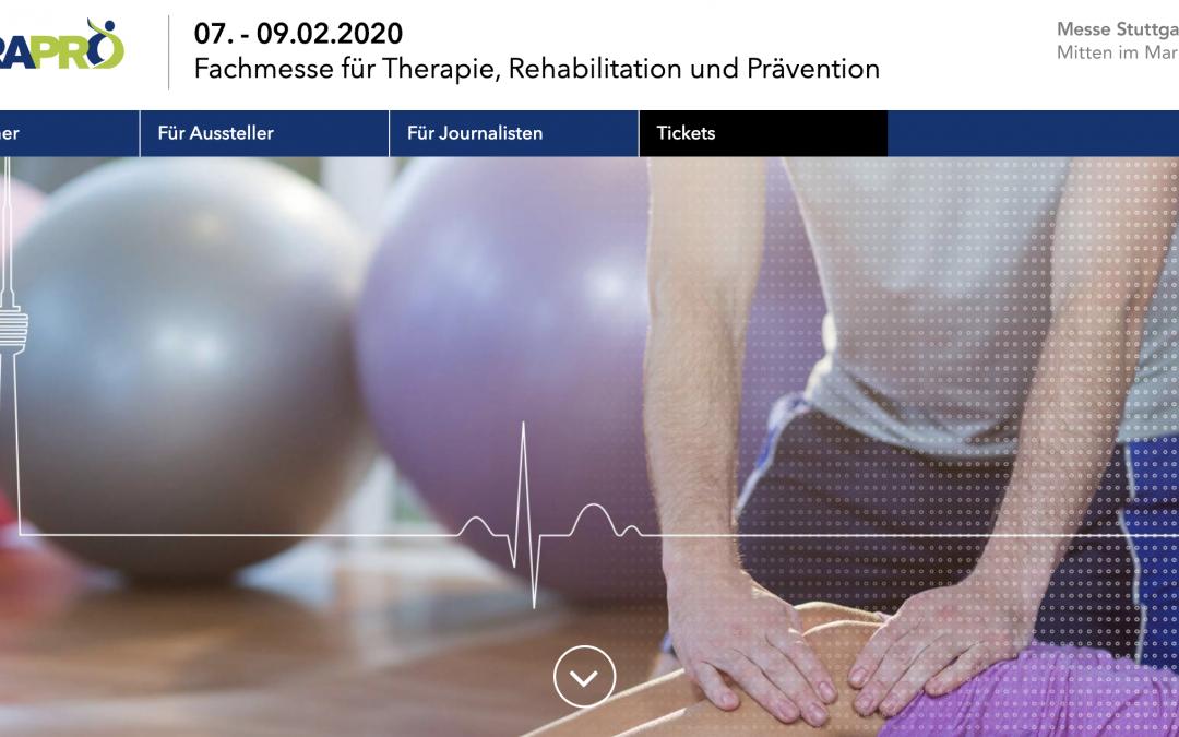 Nachhaltigkeit im Praxisalltag und der Physiotherapie im Allgemeinen – Hannah Krappmann präsentiert auf der TheraPro 2020 in Stuttgart